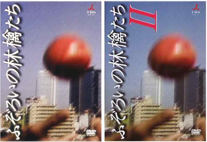 ふぞろいの林檎たち DVD-BOX 1と2のセット