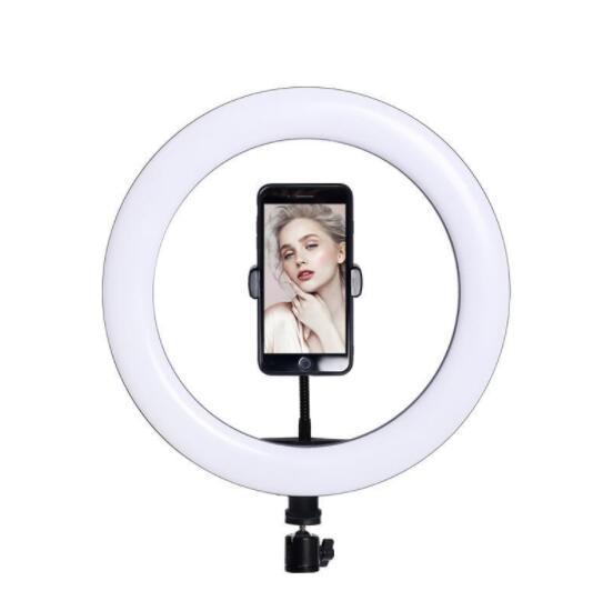 送料無料 LEDリングライト 10インチ セール USBライト 3色モード 撮影照明用ライト 卓上ライト スマホリングライト付き 開催中 YouTube生放送 ビデオカメラ撮影用 動画配信 美容化粧 広告用写真 自撮り 三脚スタンド付き