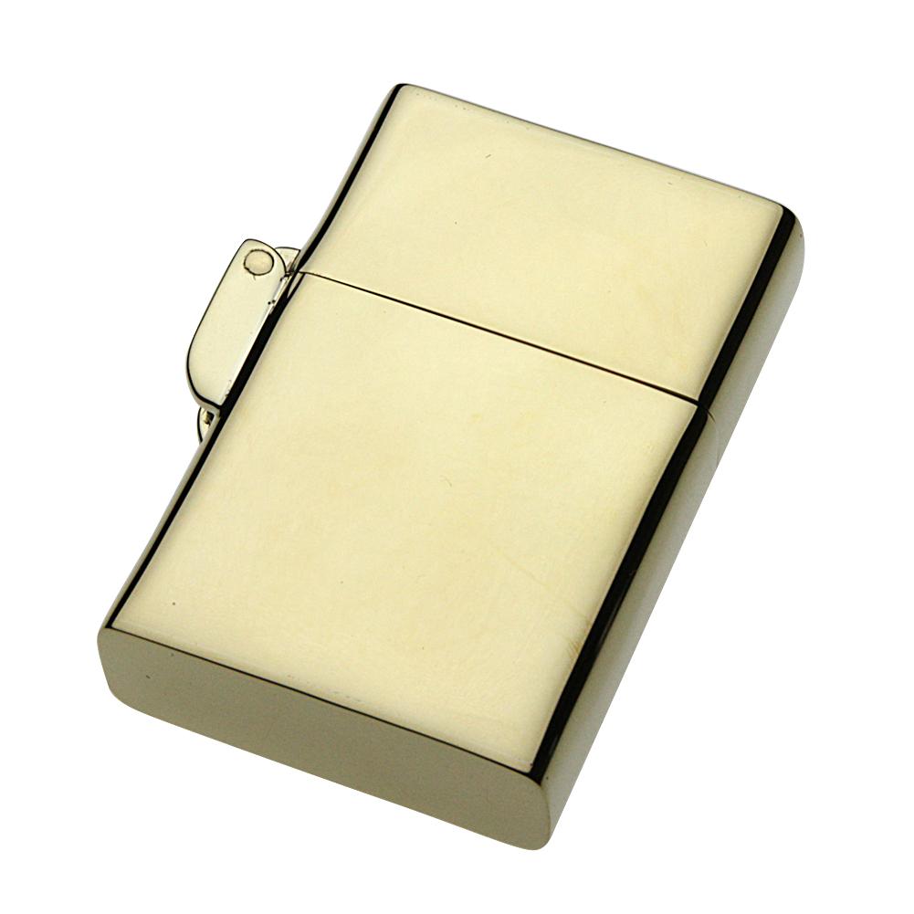 【ブラスアクセサリー】その他アイテム 真鍮製プレーンオイルライター【cenote s0043/送料無料】