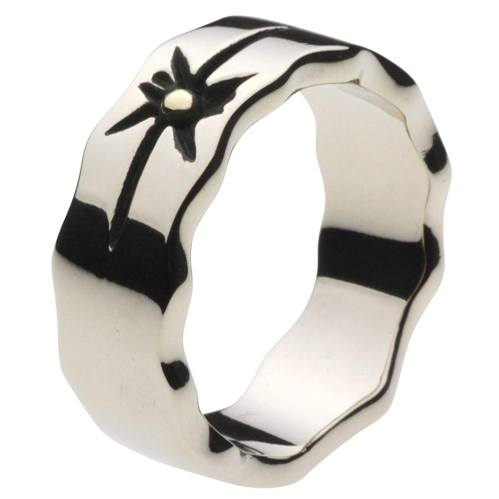 【セノーテ】 cenote r5021 【ホワイトメタルアクセサリー】 ネイティブサンリング ホワイトメタルリング 指輪 メンズ ファッションリング サンモチーフ 大空 ゴツゴツ ネイティブアメリカン インディアンジュエリー 太陽 スカイ