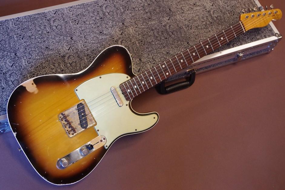 【送料無料】八弦小唄 -8gen-kouta- 60's Custom Telecaster SB / Flame Neck Option エレキギター