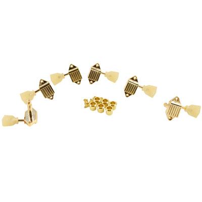 値段が激安 KLUSON 《クルーソン》 ペグ : 3+3 - PEARLOID GOLD KEYSTONE - WAFFLEBACK - GOLD [商品番号 : 9017] ペグ, 岩瀬郡:23e53240 --- bibliahebraica.com.br