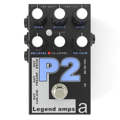 【送料無料】AMT Electronics《AMT エレクトロニクス》 P-2 [商品番号 : 6224] エフェクター(ディストーション) [P2]