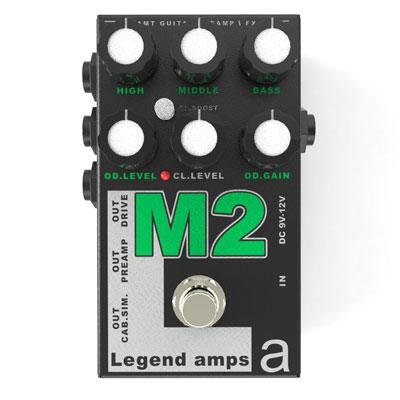 【送料無料】AMT Electronics《AMT エレクトロニクス》 M-2 [商品番号 : 6225] エフェクター(オーバードライブ) [M2]