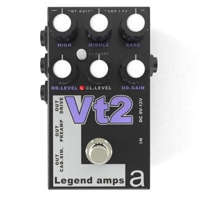 【送料無料】AMT Electronics《AMT エレクトロニクス》 Vt-2 [商品番号 : 6229] エフェクター(ディストーション) [Vt2]