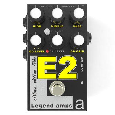 【送料無料】AMT Electronics《AMT エレクトロニクス》 E-2 [商品番号 : 6231] エフェクター(ディストーション) [E2]