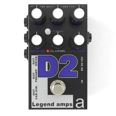 【送料無料】AMT Electronics《AMT エレクトロニクス》 D-2 [商品番号 : 6233] エフェクター(ディストーション) [D2]