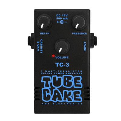 【送料無料】 AMT Electronics《AMT エレクトロニクス》 Tube Cake-3 (TC-3) [商品番号 : 6220] エフェクター(パワーアンプ) [TC3]