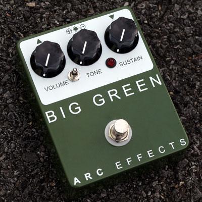 【送料無料】ARC EFFECTS 《アーク・エフェクツ》 BIG GREEN [商品番号 : 3041] エフェクター(ファズ)