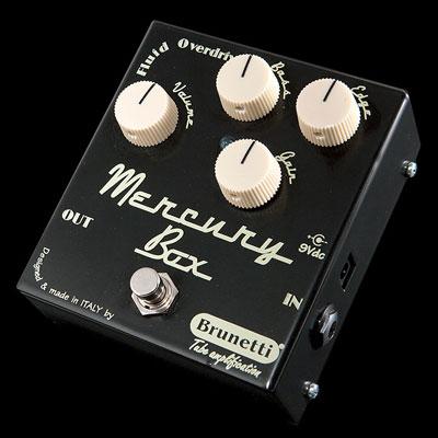 【送料無料】Brunetti《ブルネッティ》 MERCURY BOX [商品番号 : 3046] エフェクター(オーバードライブ)