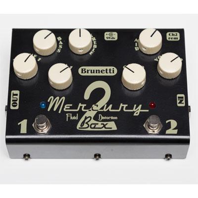 【送料無料】Brunetti《ブルネッティ》 MERCURY 2 BOX [商品番号 : 2534] エフェクター(オーバードライブ)