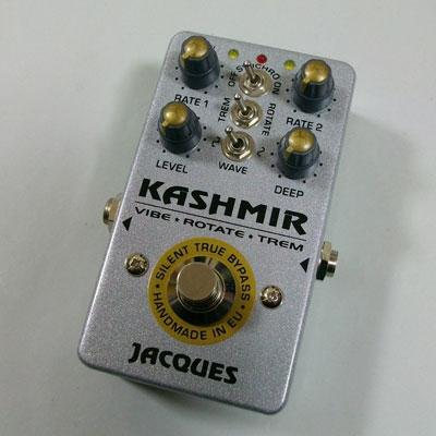 【送料無料】JACQUES Stompboxes 《ジャック・ストンプボックス》 KASHMIR-2 [商品番号 : 2542] エフェクター(トレモロ&ロータリースピーカーシミュレーター)