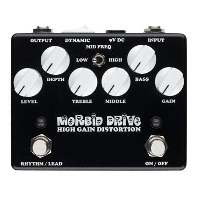 【送料無料】WEEHBO Effekte 《ヴェーボ・エフェークテ》 MORBID DRIVE-2 [商品番号 : 6112] エフェクター(ディストーション)