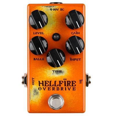 【送料無料】WEEHBO Effekte 《ヴェーボ・エフェークテ》 HELLFIRE [商品番号 : 6110] エフェクター(オーバードライブ)