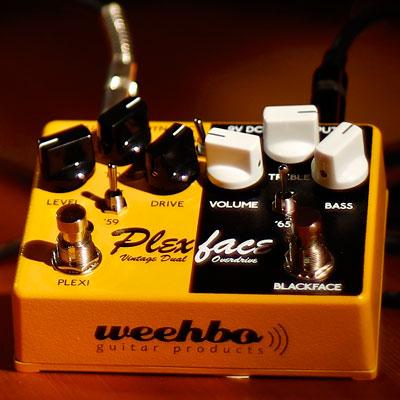 【送料無料】WEEHBO Effekte 《ヴェーボ・エフェークテ》 Plexface [商品番号 : 6114] エフェクター(オーバードライブ)