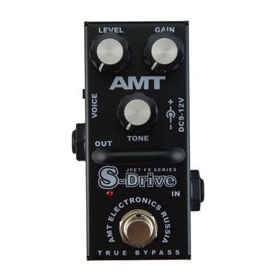 【送料無料】AMT Electronics 《AMT エレクトロニクス》 AMT S-Drive mini [商品番号 : 6248] エフェクター(オーバードライブ) [SDrive mini]