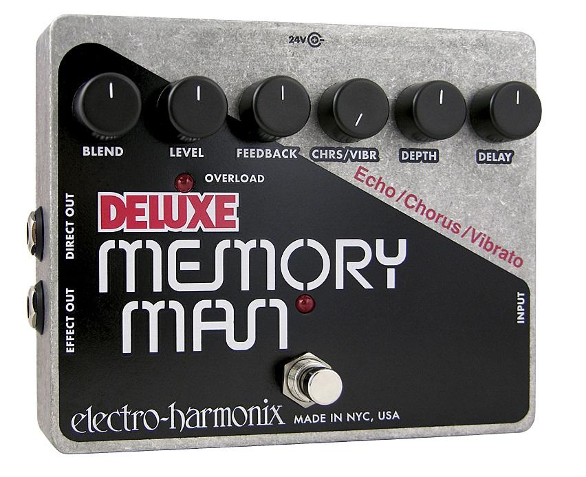 【送料無料】Electro-Harmonix エレクトロ・ハーモニクス Deluxe Memory Man エフェクター(ディレイ) / Analog Delay/Chorus/Vibrato
