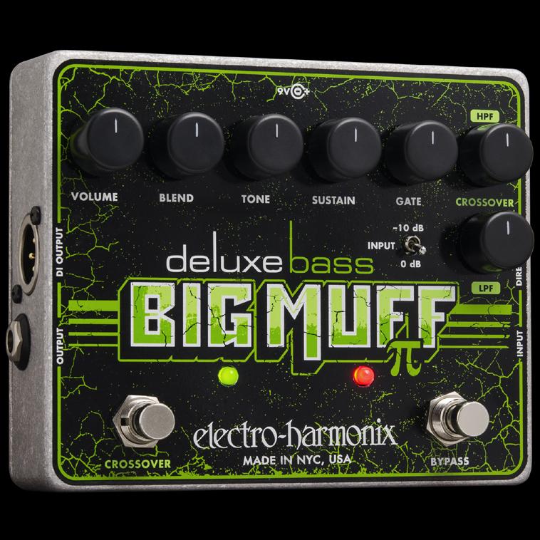 【送料無料】Electro-Harmonix エレクトロ・ハーモニクス Deluxe Bass Big Muff Pi ベース用エフェクター(ファズ) Distortion/Sustainer