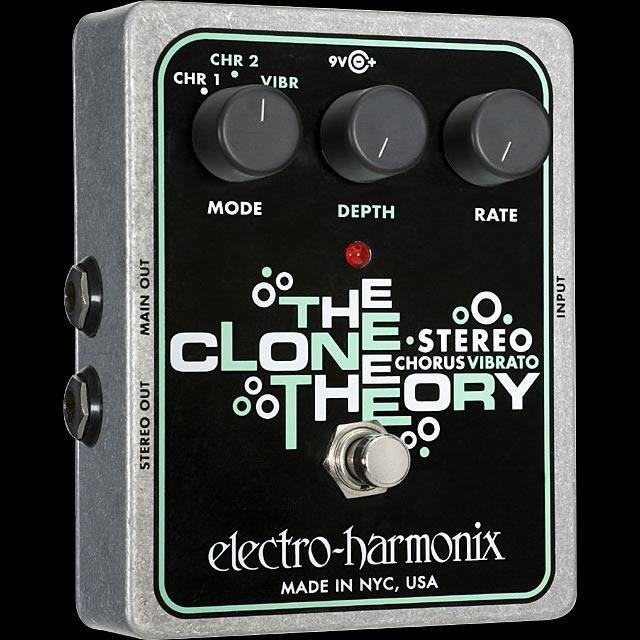 【送料無料】Electro-Harmonix エレクトロ・ハーモニックス Stereo Clone Theory エフェクター(コーラス) / Analog Chorus/Vibrato
