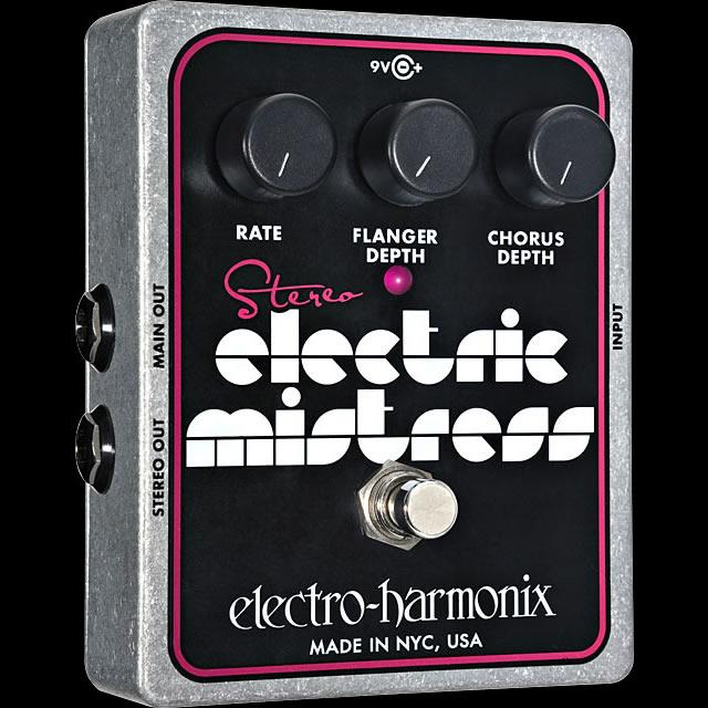 独特の素材 Electro Electric Harmonix Stereo 《エレクトロ・ハーモニックス》 Stereo Harmonix Electric Mistress エフェクター(コーラス), エムアル:ac435713 --- canoncity.azurewebsites.net