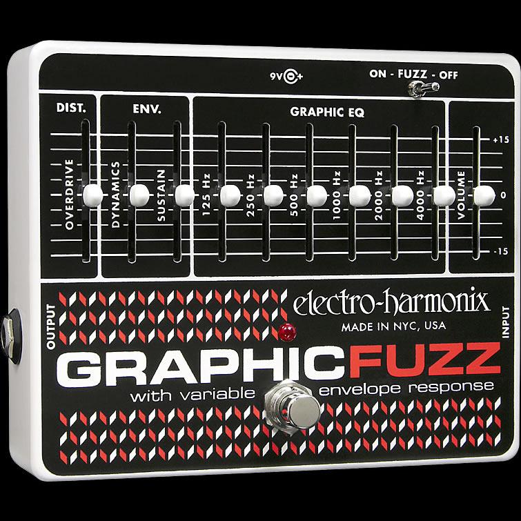 【送料無料】Electro-Harmonix エレクトロ・ハーモニックス Graphic Fuzz エフェクター(イコライザー) / EQ/Distortion/Sustainer
