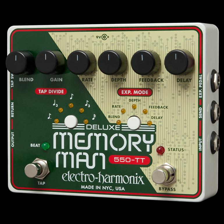 Electro Harmonix 《エレクトロ・ハーモニックス》 Deluxe Memory Man Tap Tempo 550 エフェクター(ディレイ)