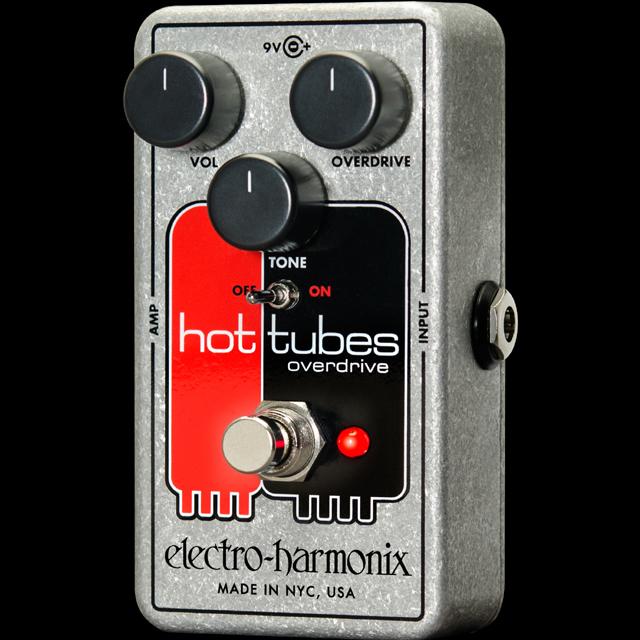 【送料無料】Electro-Harmonix エレクトロ・ハーモニックス Hot Tubes nano エフェクター(オーバードライブ) / Overdrive