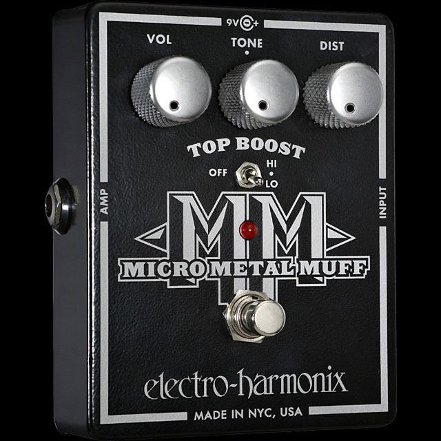 Electro Harmonix 《エレクトロ・ハーモニックス》 Micro Metal Muff エフェクター(ディストーション)