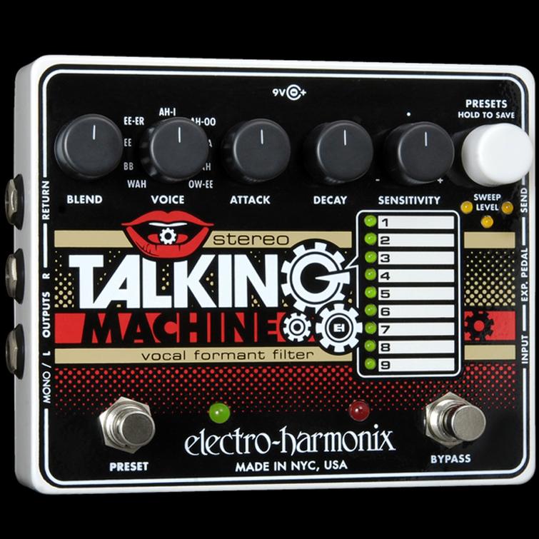 【送料無料】Electro-Harmonix エレクトロ・ハーモニックス Stereo Talking Machine エフェクター(ボーカルフォルマントフィルター) / Vocal Formant Filter