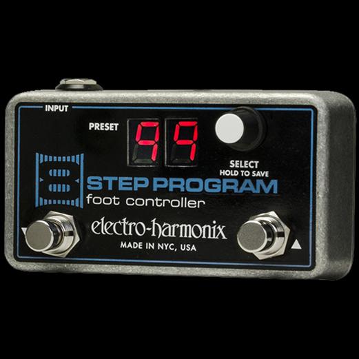 【送料無料】Electro-Harmonix エレクトロ・ハーモニックス 8 Step Program Foot Controller エフェクター(フットコントローラー) / Remote Preset Controller