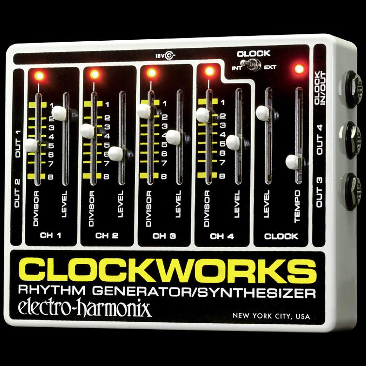 Electro Harmonix 《エレクトロ・ハーモニックス》 Clockworks エフェクター(リズムジェネレーター)