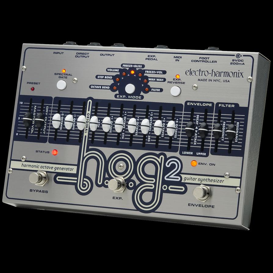Electro Harmonix 《エレクトロ・ハーモニックス》 (コンプレッサー) エフェクター Black Finger
