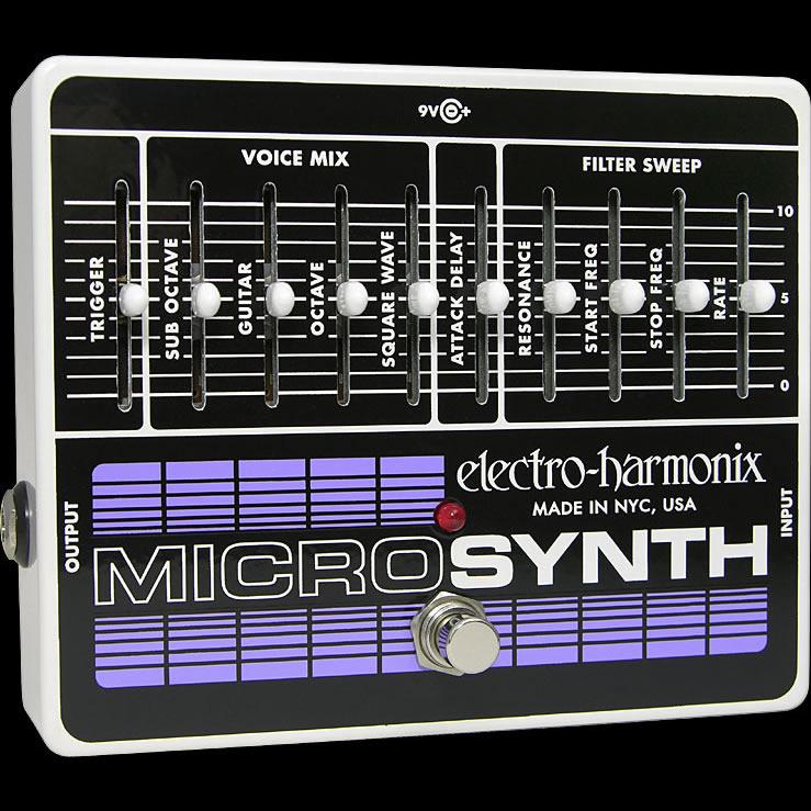 Electro Harmonix 《エレクトロ・ハーモニックス》 Micro Synthesizer エフェクター(ギターシンセ)