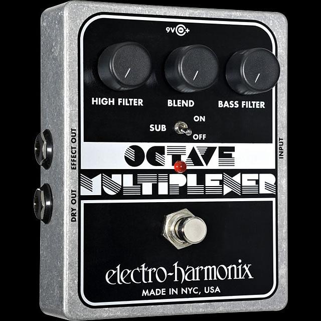 Electro Harmonix 《エレクトロ・ハーモニックス》 Octave Multiplexer エフェクター(オクターバー)