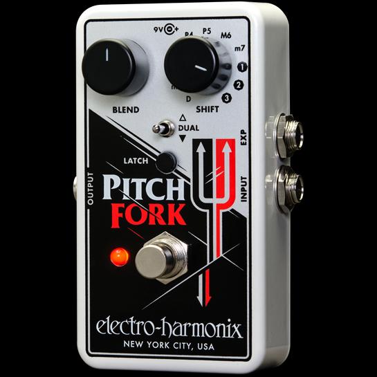 【送料無料】Electro Harmonix Pitch Fork エフェクター(ピッチシフター) エレクトロ・ハーモニックス