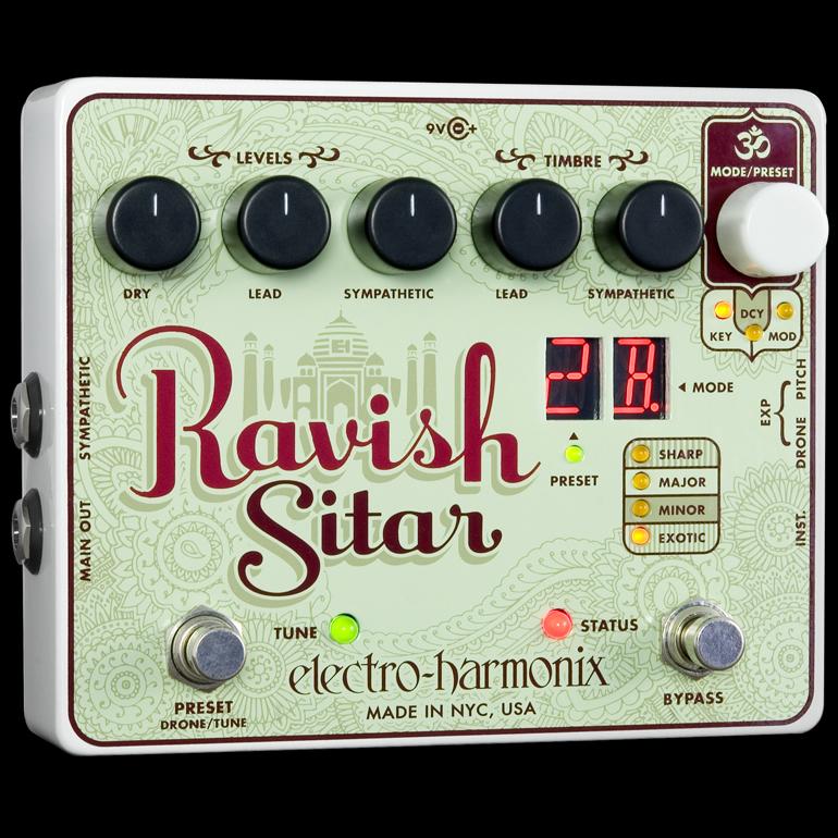 Electro Harmonix 《エレクトロ・ハーモニックス》 Ravish エフェクター(シタールサウンド)