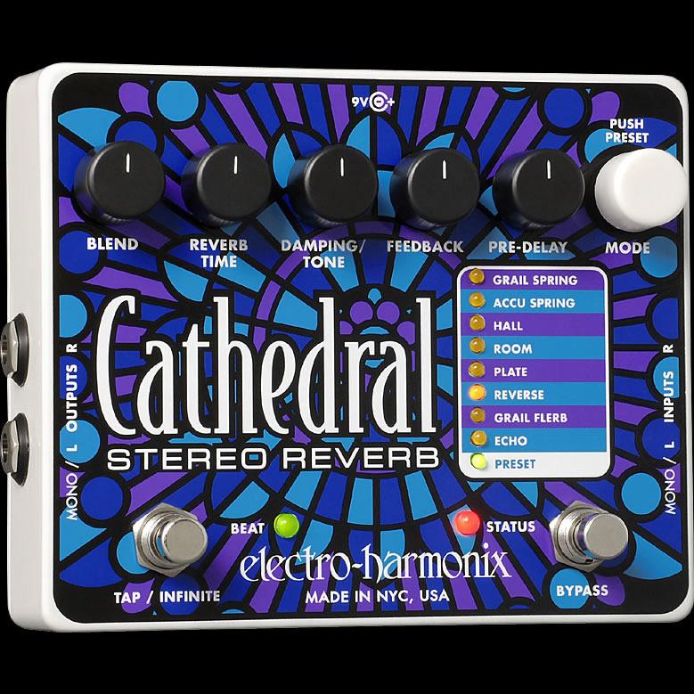 【オープニング大セール】 Electro Harmonix Harmonix 《エレクトロ・ハーモニックス》 Cathedral Cathedral エフェクター(リバーブ), オバタチョウ:b114cfc4 --- konecti.dominiotemporario.com
