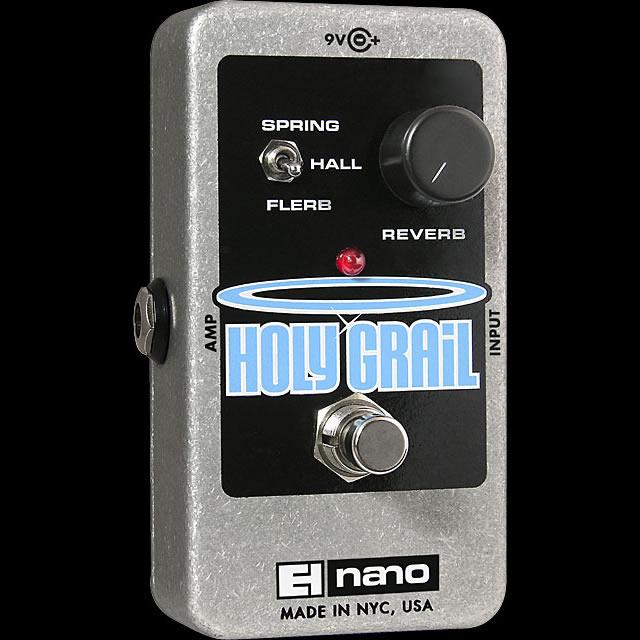 Electro Harmonix 《エレクトロ・ハーモニックス》 Holy Grail エフェクター(リバーブ)