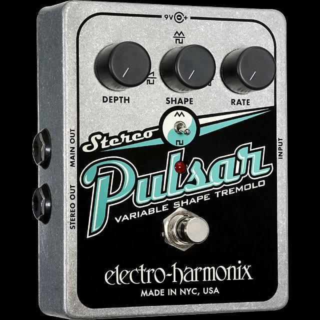 Electro Harmonix 《エレクトロ・ハーモニックス》 Stereo Pulsar エフェクター(トレモロ)