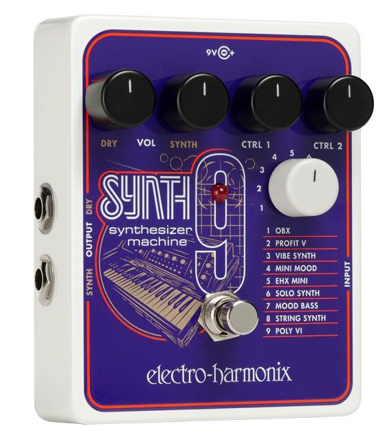 【送料無料】Electro-Harmonix 《エレクトロハーモニクス》 SYNTH9 Synthesizer Machine エフェクター(シンセサイザー)
