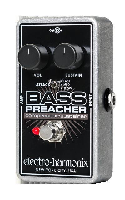 美しい 【送料無料 Preacher】 Electro-Harmonix エレクトロ エレクトロ ハーモニックス Bass Preacher Electro-Harmonix ベース用エフェクター(コンプレッサー), GReeD BLACKMARKET:50630ac2 --- canoncity.azurewebsites.net