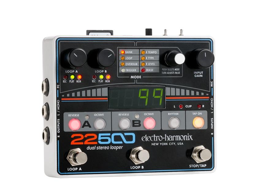 【送料無料】Electro-Harmonix エレクトロ ハーモニックス 22500 エフェクター(ルーパー) / Dual Stereo Looper