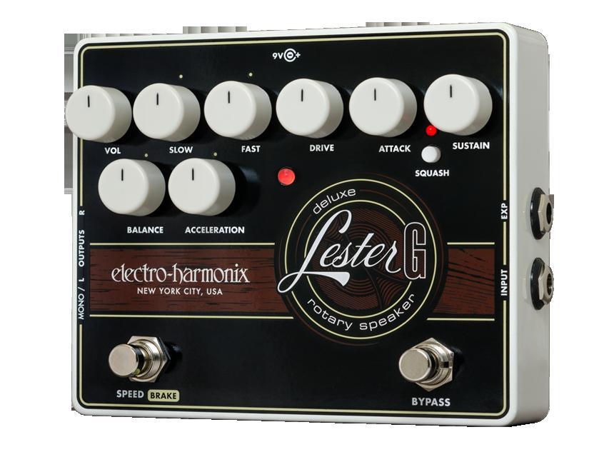 【送料無料】Electro-Harmonix エレクトロ・ハーモニックス Lester G エフェクター(ロータリースピーカーシミュレーター)/ Deluxe Rotary Speaker
