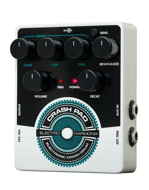 【送料無料】Electro-Harmonix 《エレクトロ ハーモニックス》 Crash Pad Electronic Crash Drum エフェクター(ドラムシンセサイザー)
