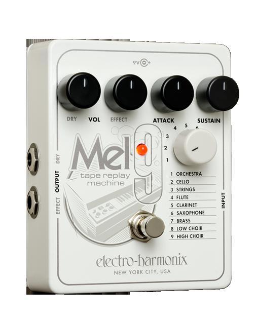 【送料無料】 Electro Harmonix 《エレクトロ・ハーモニクス》 MEL9 Tape Replay Machine エフェクター(メロトロン エミュレーター)