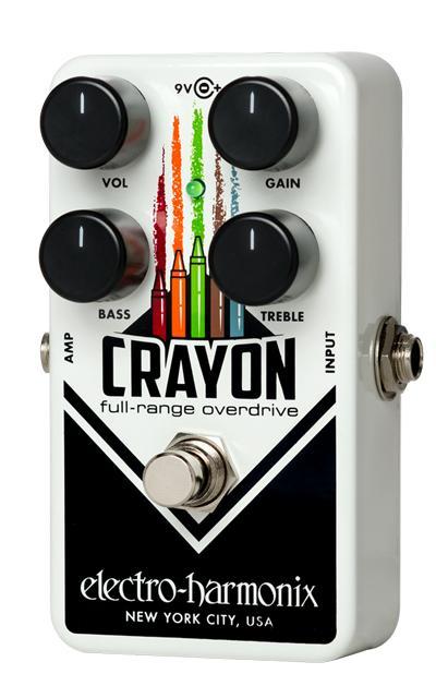 【送料無料】 Electro-Harmonix 《エレクトロ ハーモニックス》 Crayon Full-Range Overdrive Black エフェクター(オーバードライブ)