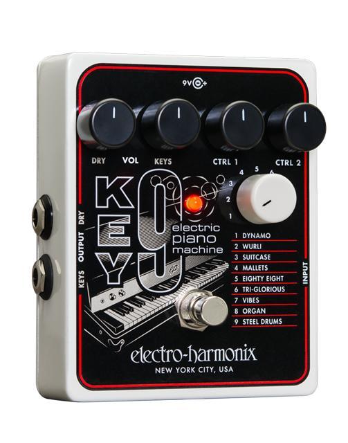 【送料無料】Electro-Harmonix エレクトロ・ハーモニックス KEY9 エフェクター(ピアノマシーン) / Electric Piano Machine