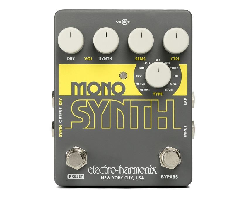 【送料無料】Electro-Harmonix エレクトロ・ハーモニクス Mono Synth エフェクター(ギターシンセ) / Guitar Synthesizer