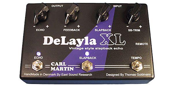 【送料無料】CARL MARTIN《カールマーチン》 DeLAYLA XL エフェクター(ディレイ)