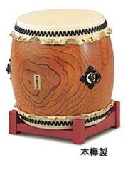 【受注生産品】SUZUKI 《スズキ》 長胴太鼓 本欅製 2尺(60cm)